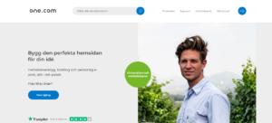one.com webbhotell för domäner